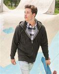 Custom Independent Trading Co. Full-Zip Hooded Sweatshirt w/Fleece Lined Hood