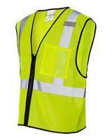 ML Kishigo® Class 2 Economy Vest w/Zipper Front
