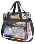 Custom Clear Messenger Bag