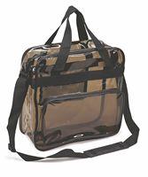 Transparent Black Messenger Bag