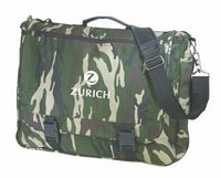 Deluxe Camo Expandable Briefcase