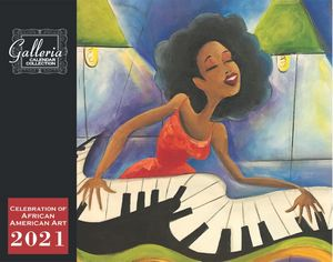 Galleria Wall Calendar 2019 Celebration of African-American Art (Low Price )