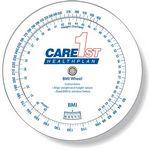 3 Wheel Body Mass Index Calculator (20-300 lb/9-136 kg), Spot Colors