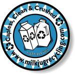 Custom White Matte Flexo Printed Stock Circle Roll Labels (2
