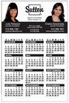 Custom 14 Pts White Card Stock Magnetic Calendar, (4