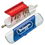 Custom 6 Bit Handyman Tool Kit w/ 2 Magnetic Sockets (4 3/16