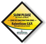 Custom Full Color Magnetic Vehicle Signs 11.5