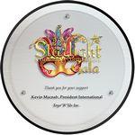 Custom Silver Circle Award (9