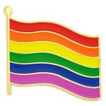 Custom Rainbow Flag / Gay Pride Lapel Pin