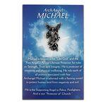 Custom Michael The Archangel Pin w/ Presentation Card