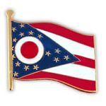 Custom Ohio State Flag Pin