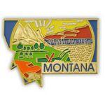 Custom Montana State Pin