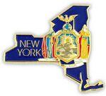 Custom New York State Pin