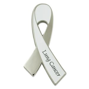Lung Cancer Awareness Ribbon Pin