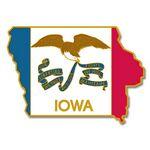 Custom Iowa State Pin