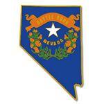 Custom Nevada State Pin