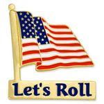 Custom Let's Roll Pin