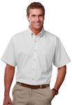 Men's Short Sleeve TEFLON™ Treated Twill Shirt w/Patch Pocket