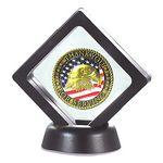 Custom FlexiFrame Challenge Coin Display (3.50