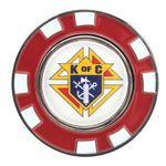Custom Poker Chip with Magnetic Ball Marker