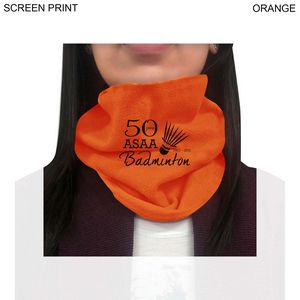 Fleece Neck Warmer, Printed or Blank