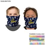 Sublimated Tubular YOUTH Neck Gaiter Facemasks (Imported and in stock, Fast production)