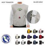 Custom Twill Smock Apron, 2 Pockets, Heat Transfer or Blank