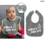 Custom Terry Baby Bib, 11x8, Printed