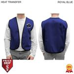 Custom Twill Supermarket Vest, Printed or Blank