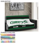 Team Blanket in Plush and cozy Mink Flannel Fleece, 50x60, Couch size, Sublimated edge to edge