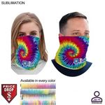 Personalized Sublimated BEST VALUE lightweight Seamless Neck Gaiter