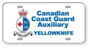 .060 White Styrene Licence Plates (5.875