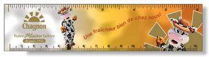 .020 White Plastic Rulers 1.5