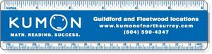 .040 Clear Copolyester Ruler / round corners (1.5