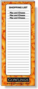 50 Page Magnetic Note-Pads with 4 Colour Process (2.75
