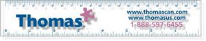 .040 Clear Copolyester Ruler / square corners (1.5