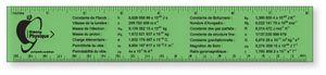 .020 Translucent Polypropylene Ruler (1.5
