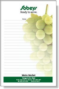 50 Page Magnetic Note-Pads with 4 Colour Process (5.5