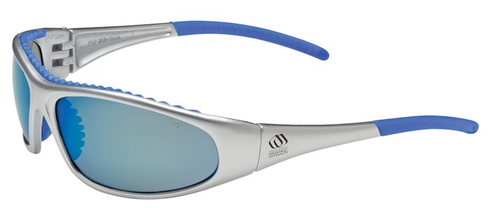Bouton Flashfire Blue Mirror Glasses, 7