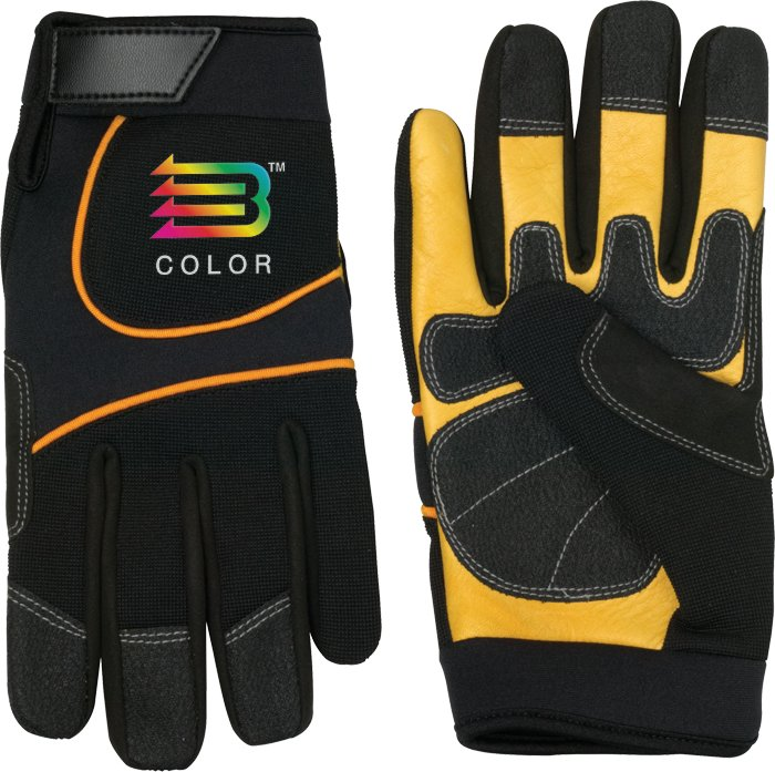 Cow Palm Mechanic Glove, 9.5