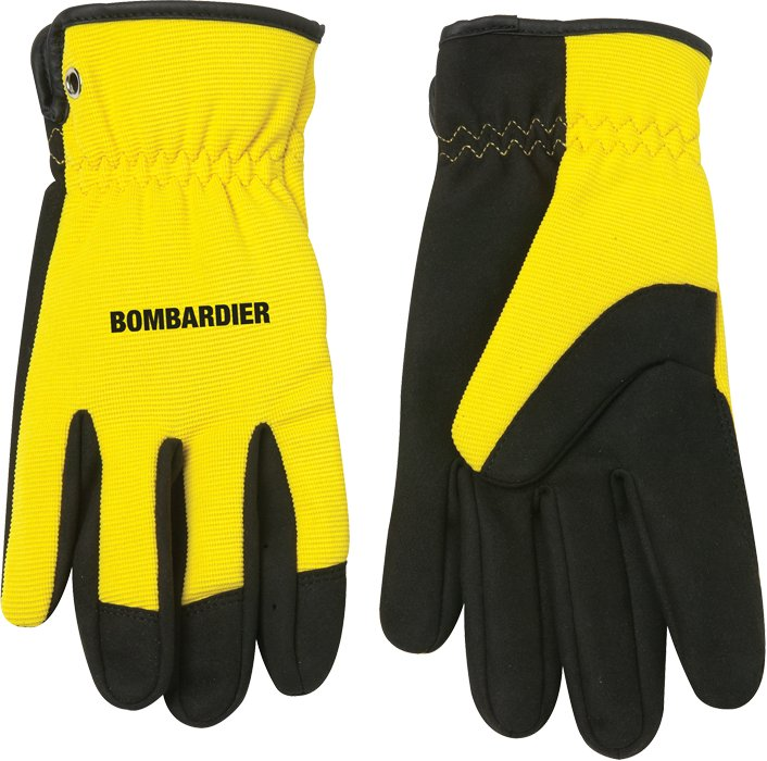 Mechanics Glove w/Open Cuff (M), 4