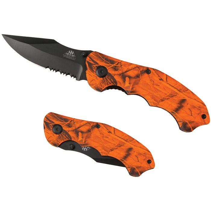 Blaze Camo Knife, 4.5
