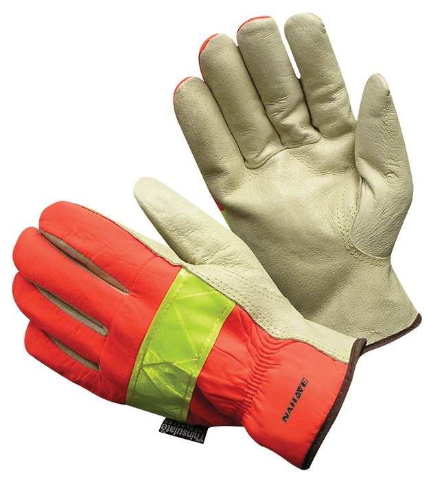 Insulated Top Grain Pigskin Glove, 1