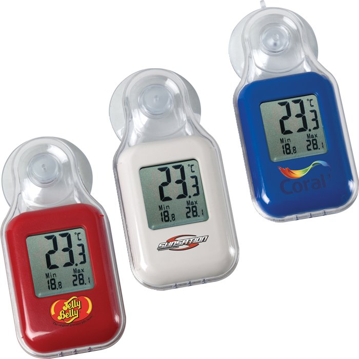 Celsius Digital In/Outdoor Thermometer, 0.875