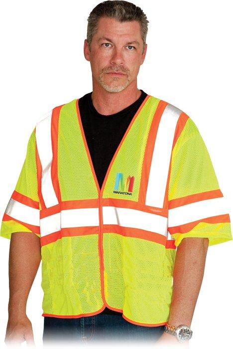 Value Two Tone Mesh Vest, 1