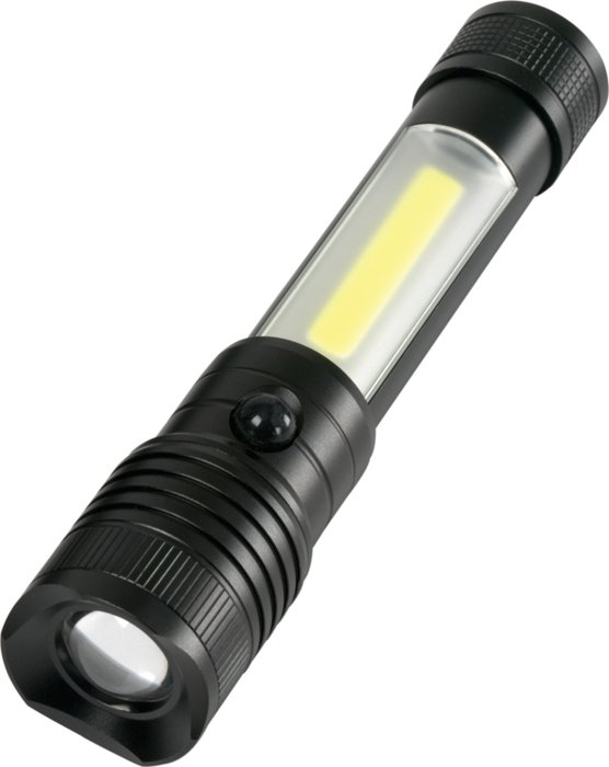 Utility Roadside Flashlight (COB/CREE XPG-R5), 6.75