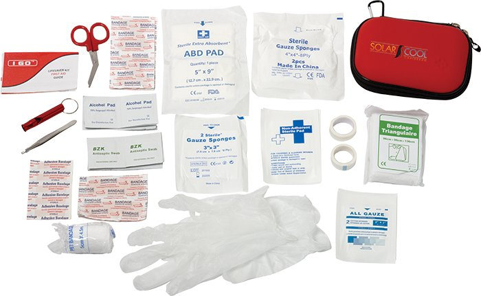 Compact 85 Pc 1st Aid Kit, 2.25