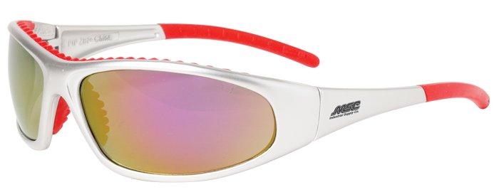 Bouton Flashfire Red Mirror Glasses, 7