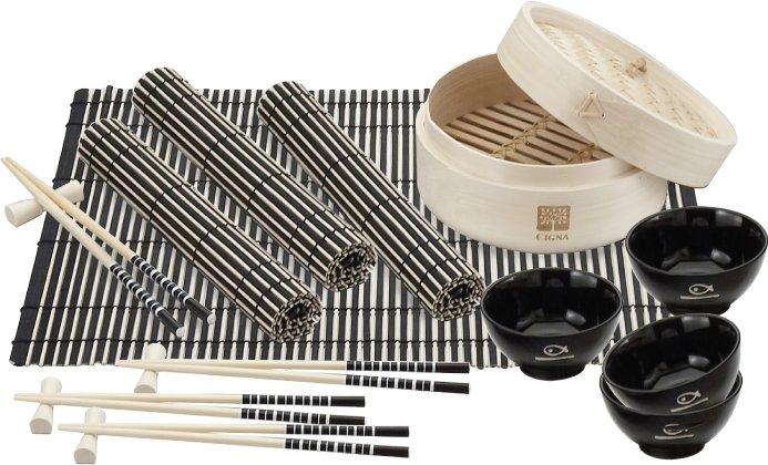 Bamboo Steamer Set, 8.125