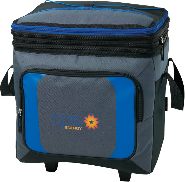 36 Can Roller Cooler w/Storage, 10.5